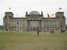 Reichstag, riksdagen i Berlin